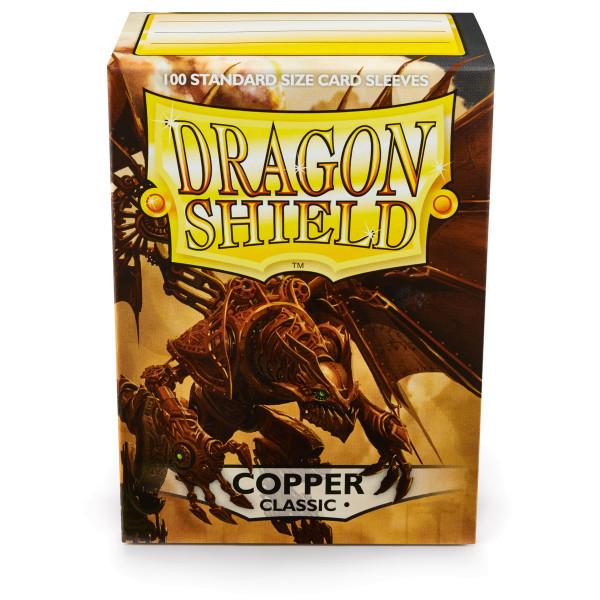 Dragon Shield: Kupfer (100 Stück)