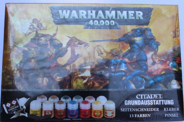 WARHAMMER 40000 GRUNDAUSSTATTUNG (DEU)