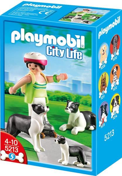 Playmobil 5213 - Border Collie-Familie