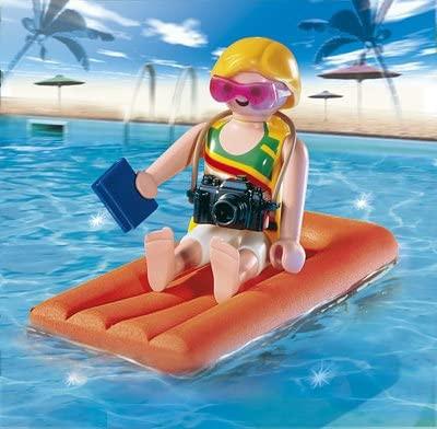 Playmobil 4681 - Special Frau auf Luftmatratze