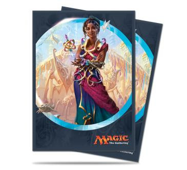 Kaladesh Saheeli Rai Standard Deck Protector sleeves for Magic 80ct