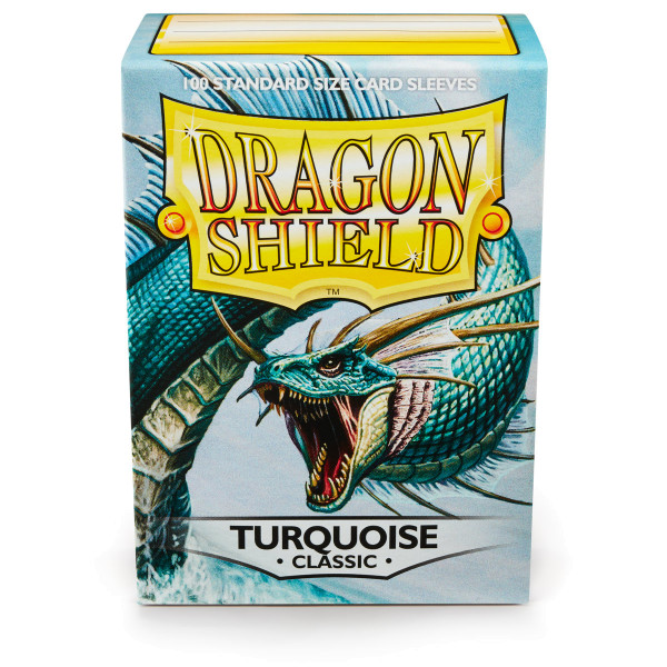 Dragon Shield: Turquoise (100 Stück)