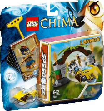 LEGO Legends of Chima - Dschungeltore (70104)