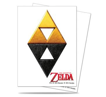 The Legend of Zelda: Tri-Force Deck Protector sleeves 65ct