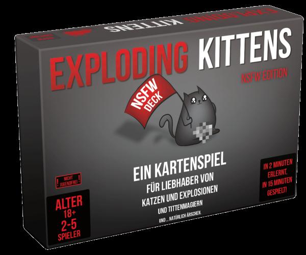 Exploding Kittens NSFW Edition (DE)