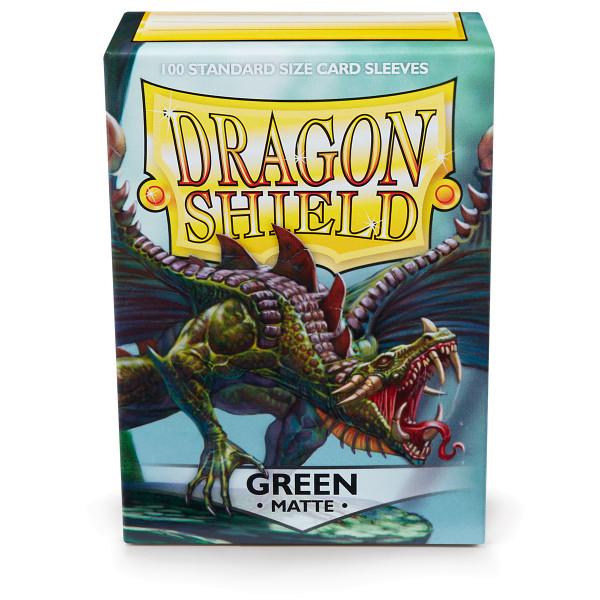 Dragon Shield Matte: Grün (100 Stück)