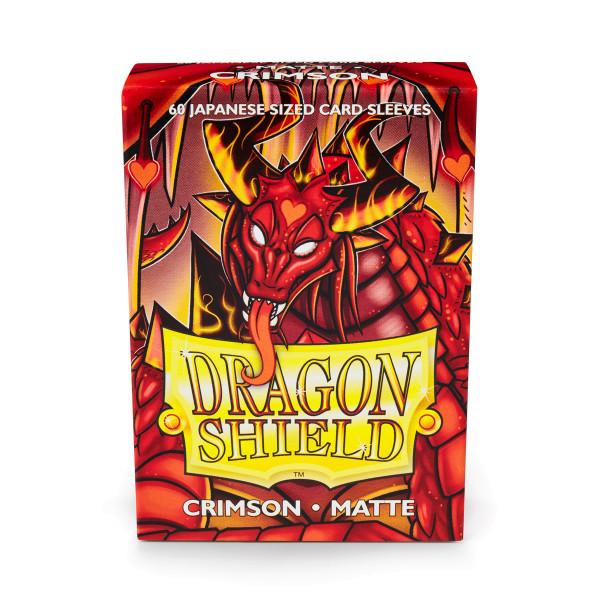 Dragon Shield: Japanese Matte Crimson (60)