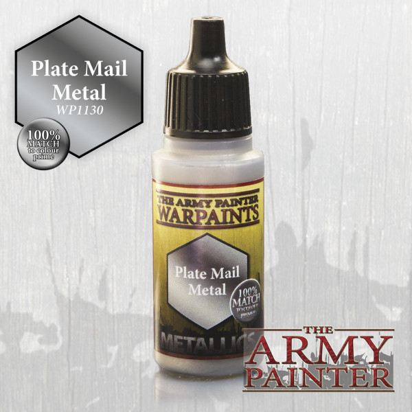 Army Painter Paint: Plate Mail Metal