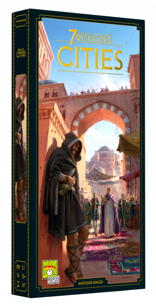 7 Wonders - Cities (neues Design) • Erweiterung DE