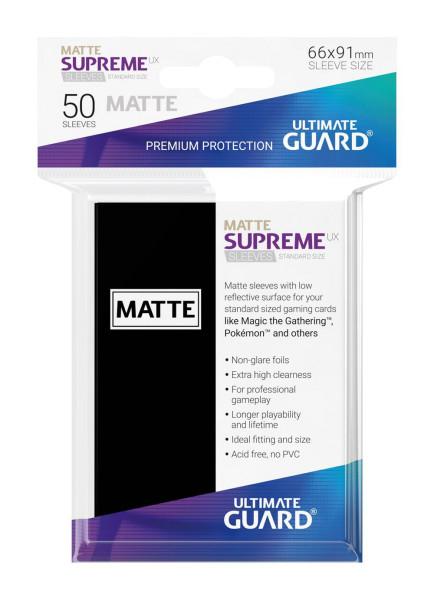 Supreme UX Sleeves Standard Matte - Black (50)