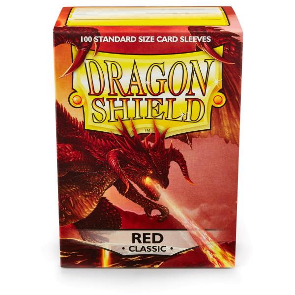 Dragon Shield: Rot (100 Stück)
